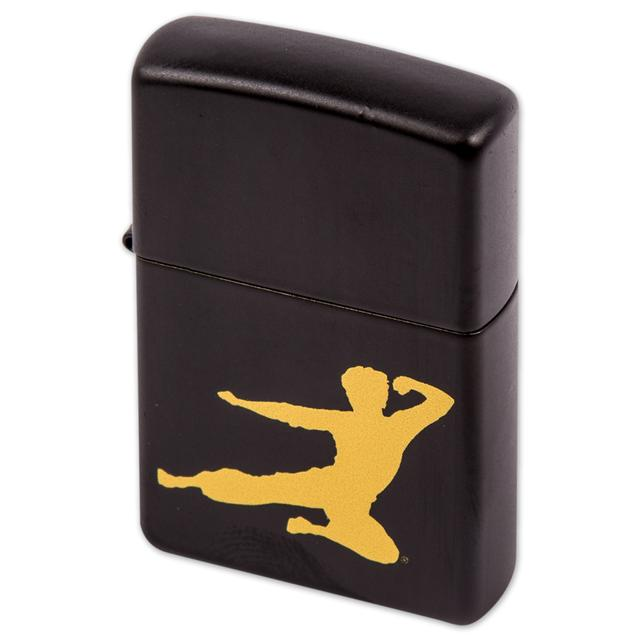 Bruce Lee Flying Man Zippo Lighter