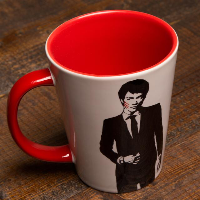 Bruce Lee 12oz. Sophisticated Dragon Mug