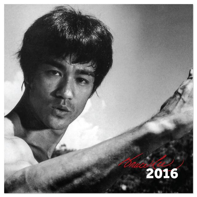 Bruce Lee 2016 Calendar - Exclusive