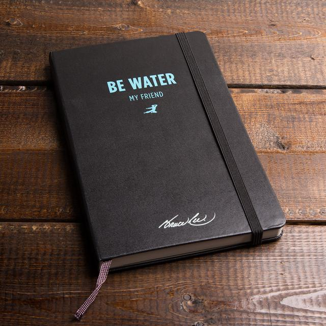 "Bruce Lee ""Be Water"" Journal by Moleskine"