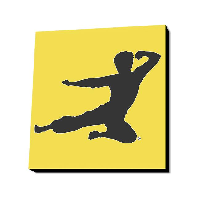Bruce Lee Flying Man Wall Art