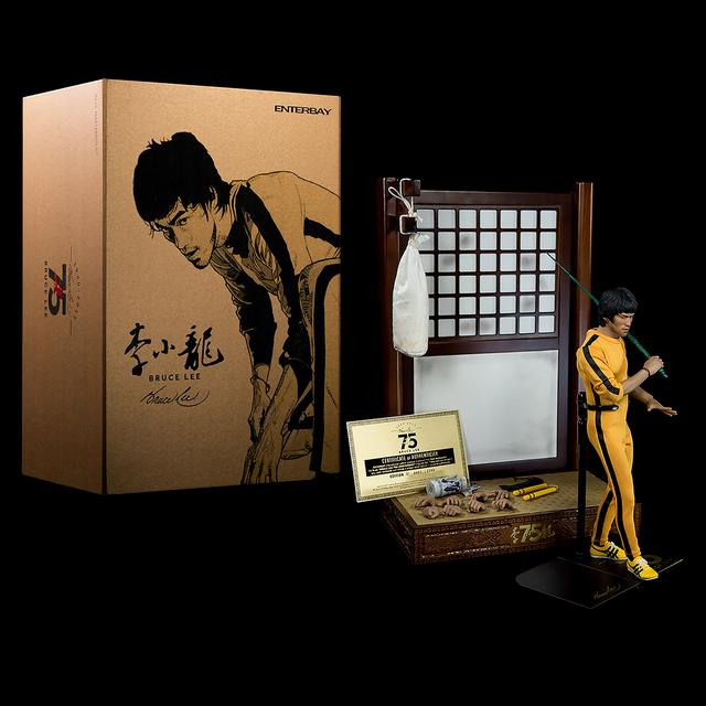 Bruce Lee 75th LTD Edition Figure By Enterbay