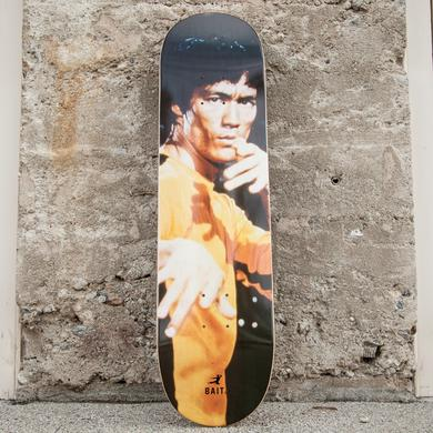 Bruce Lee Yellow Jumpsuit Skateboard Deck