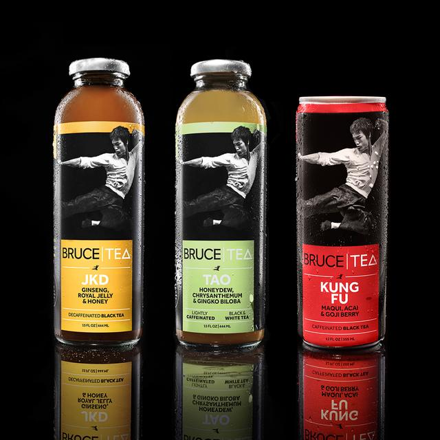 Bruce Lee Bruce Tea Assorted Case JKD, TAO, KF (12 Cans)