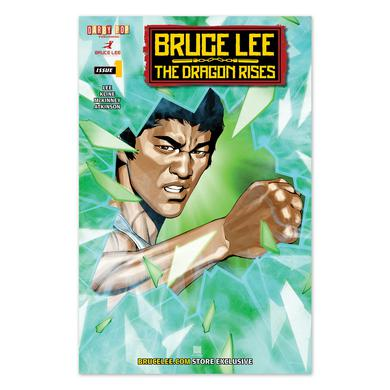 Dragon Rises Issue # 1 Cover 3 - A Bruce Lee Store Exclusive