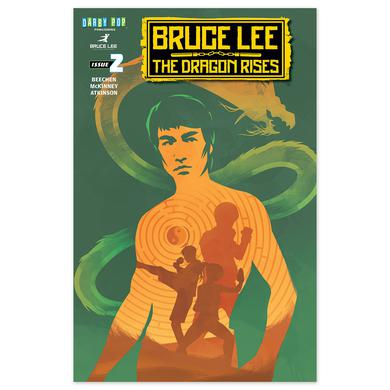 Bruce Lee The Dragon Rises Issue # 2 Cover 2