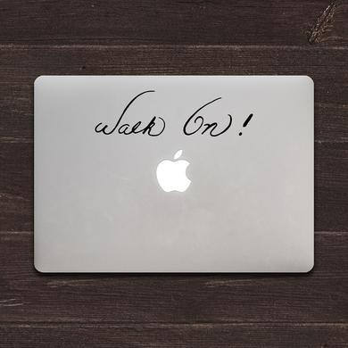 Bruce Lee Walk On! MacBook Decal