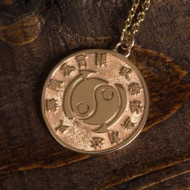 Bruce Lee Core Symbol Women's 10k Gold Medallion + Chain