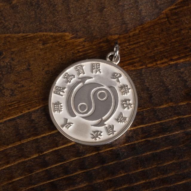 Bruce Lee Core Symbol Women's Sterling Silver Medallion