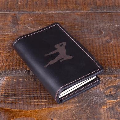 Bruce Lee Flying Man Travel Wallet w/Moleskine Journal + Space Pen