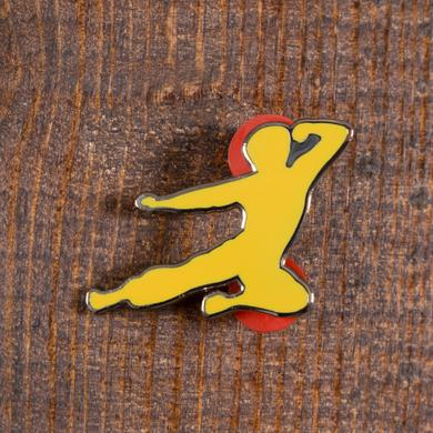 Bruce Lee Flying Man Ltd. Ed. Yellow Pin