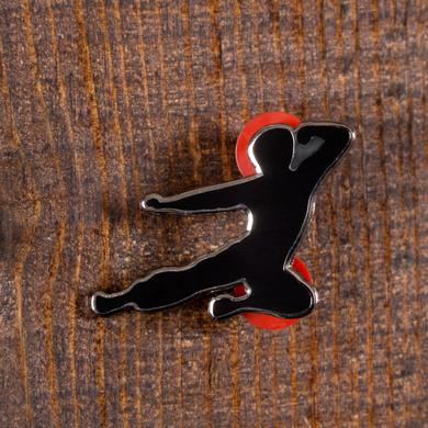 Bruce Lee Flying Man Ltd. Ed. Black Pin
