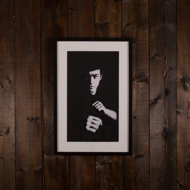 Bruce Lee The Pose Art Print