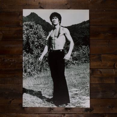 Bruce Lee After the Workout Canvas Print