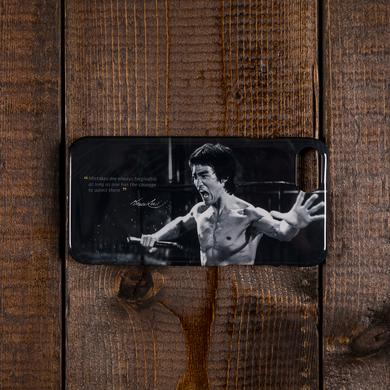 Bruce Lee Admit Mistakes iPhone Case