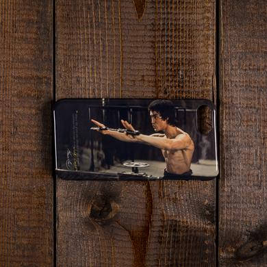 Bruce Lee Walk On! iPhone Case