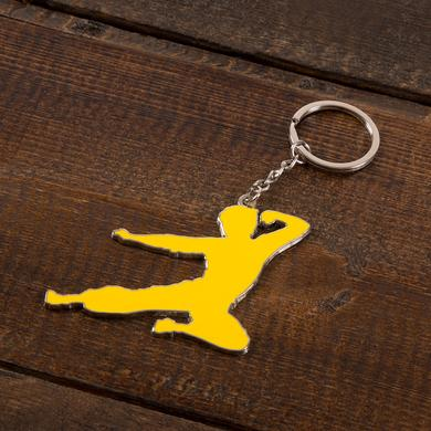 Bruce Lee Flying Man Keychain