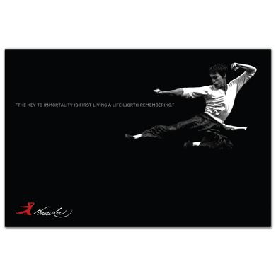 Bruce Lee Immortal Flying Man Poster