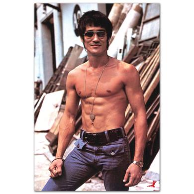 Bruce Lee Sunglasses Poster