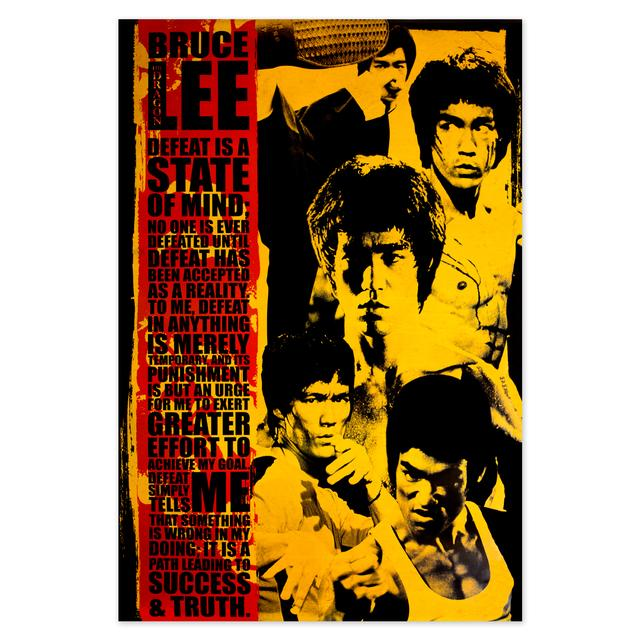 "Bruce Lee State of Mind Poster 24""x36"""