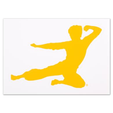 Bruce Lee Flying Man Sticker - FREE w/ purchase