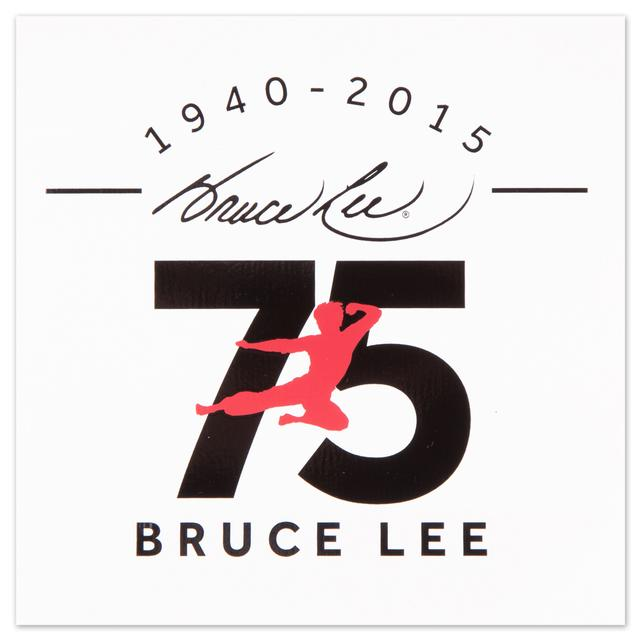 Bruce Lee 75th Anniversary Sticker - FREE w/ purchase!