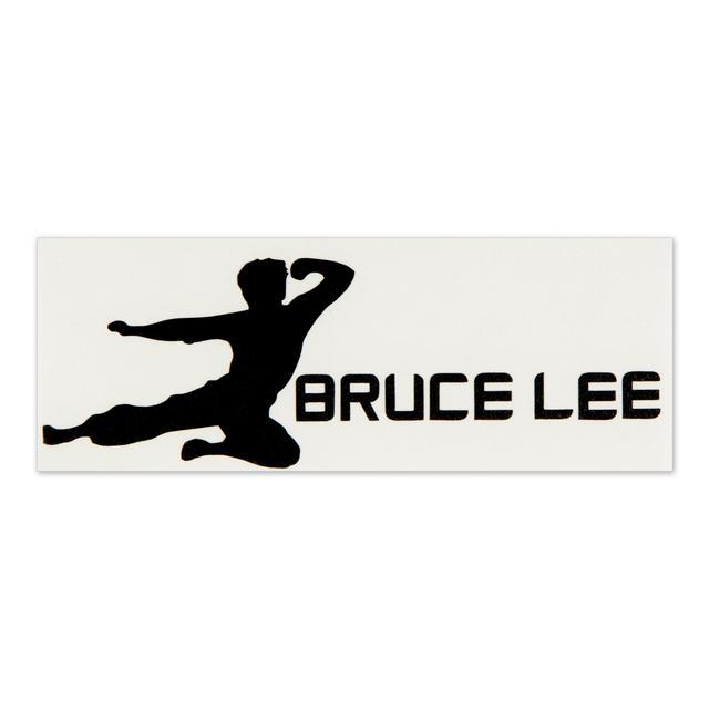 Bruce Lee Horizontal Flying Man Sticker