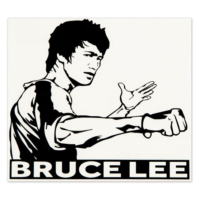 Legendary Bruce Lee Sticker