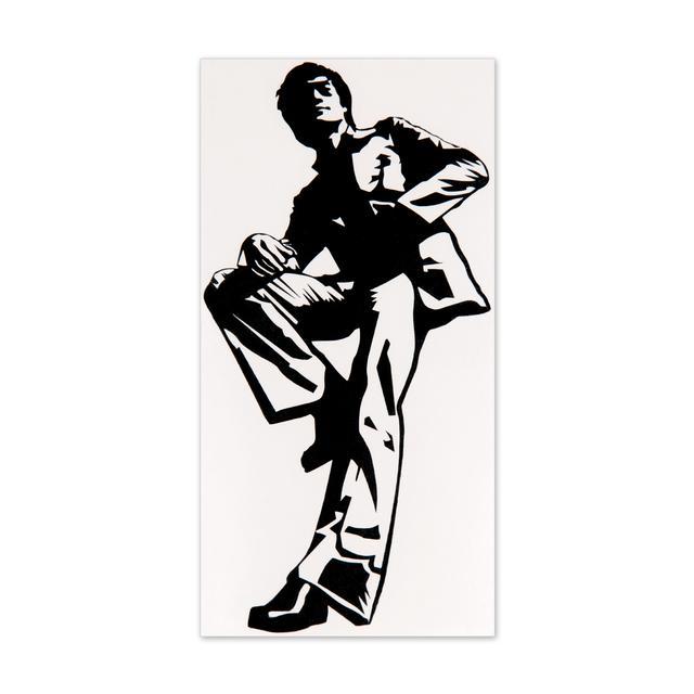 Bruce Lee Hollywood Sticker