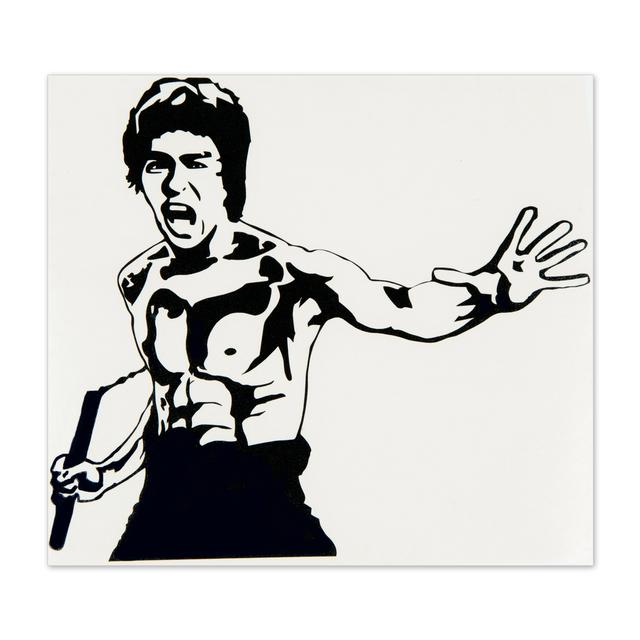 Bruce Lee ETD Sticker