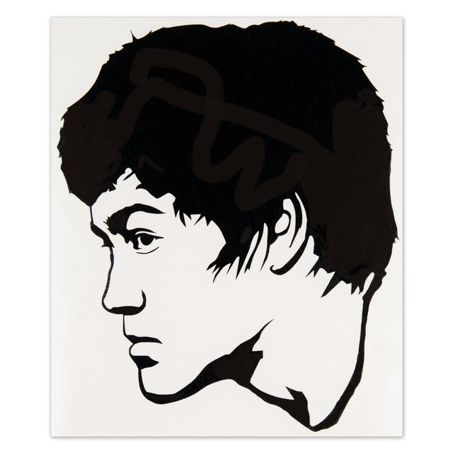 Bruce Lee Face Profile Sticker