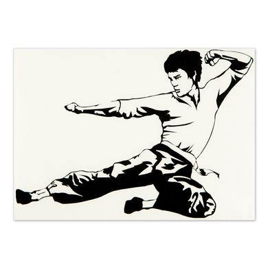Bruce Lee ETD Chucks Sticker
