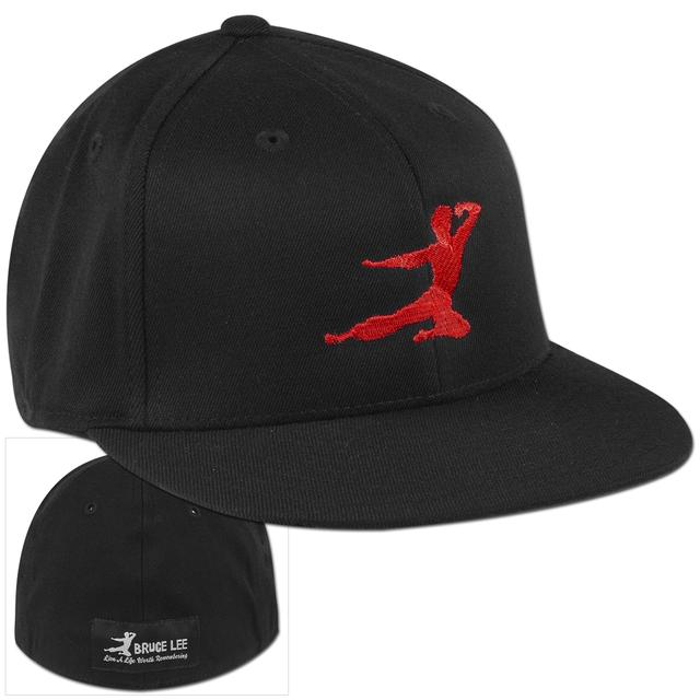 Bruce Lee Red Logo Cap