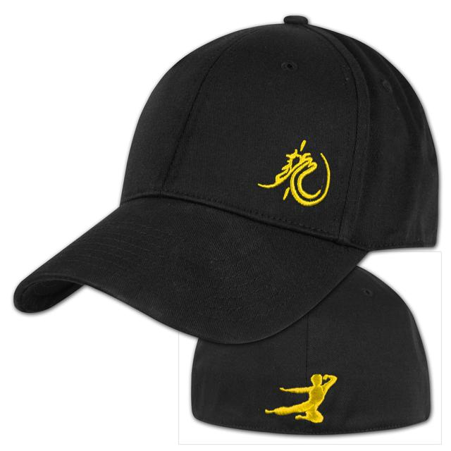 Bruce Lee Yellow Loong Flying Man Cap