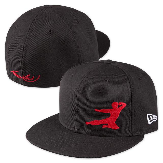 Bruce Lee Flying Man New Era 59FIFTY Fitted Cap