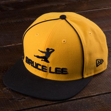Bruce Lee Flying Man Yellow New Era Cap