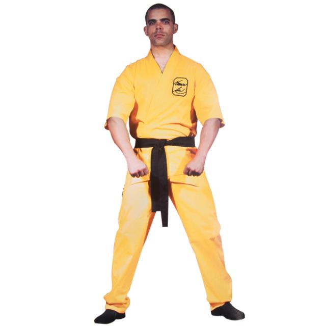 Bruce Lee Yellow Martial Arts Uniform