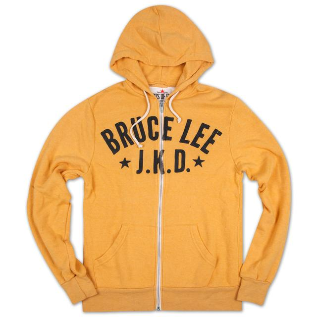 Bruce Lee Starred JKD Hoody Yellow LS/MD