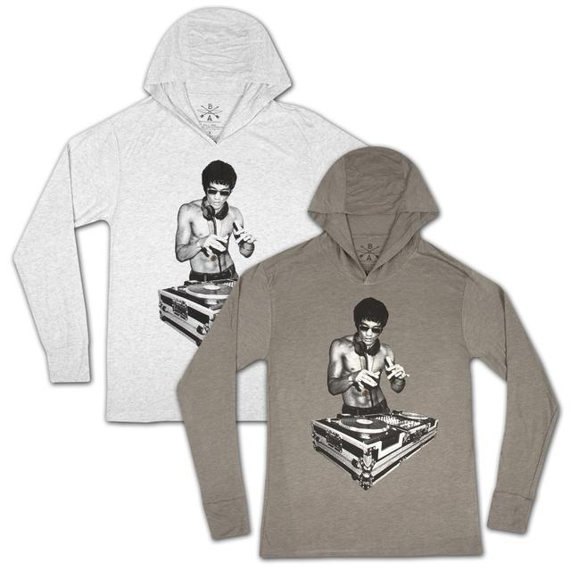 Bruce Lee DJ Dragon Hoodie by Bow & Arrow