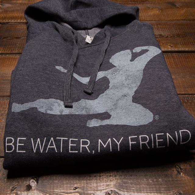 Bruce Lee Be Water Pullover Hoodie