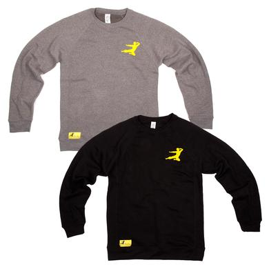 Bruce Lee Flying Man Premium Crewneck Sweatshirt