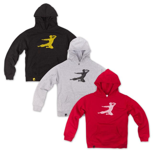 Bruce Lee Youth Flying Man Hoodie
