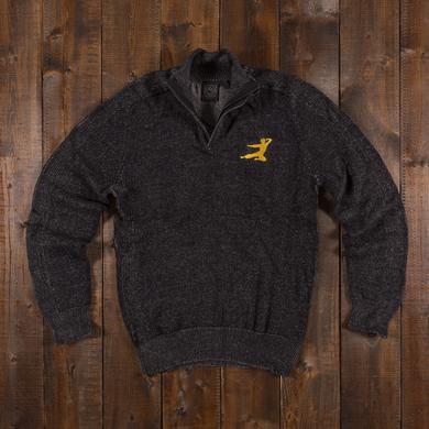 Bruce Lee Flying Man 1/4 Zip Pullover