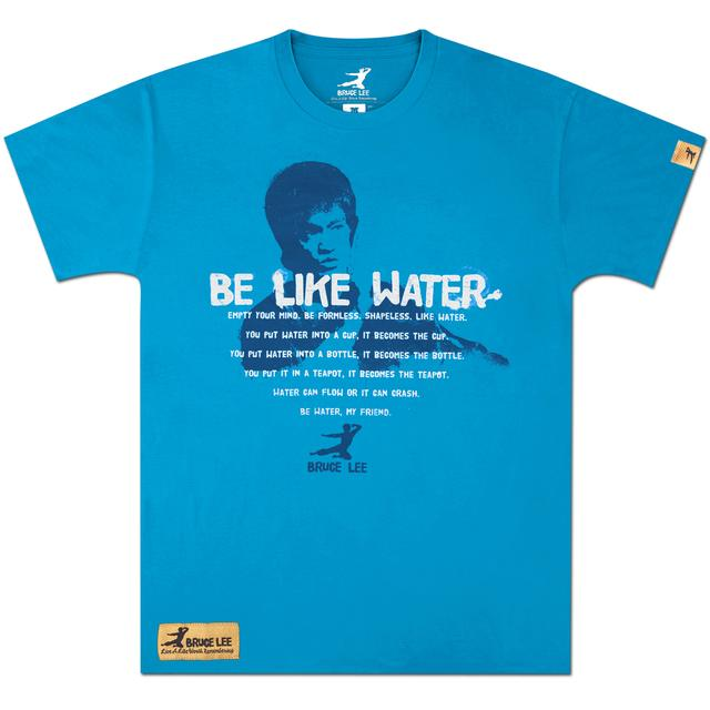 Bruce Lee Be Like Water T-shirt