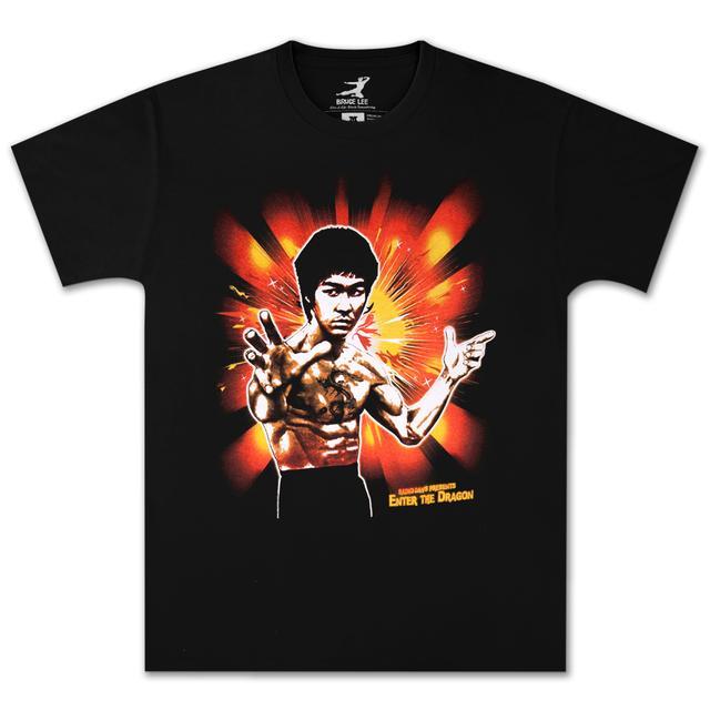 Bruce Lee Dragon Pose T-shirt