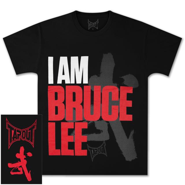 LTD Edition I Am Bruce Lee Tapout T-shirt
