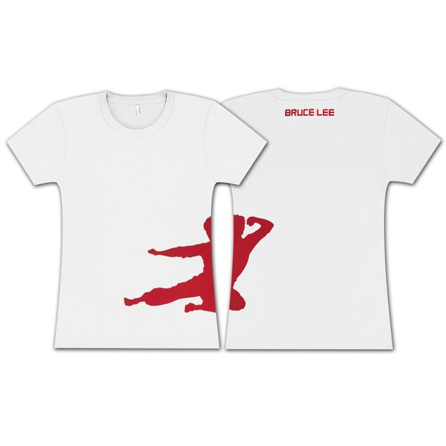 Bruce Lee Ladies Silhoutte T-shirt