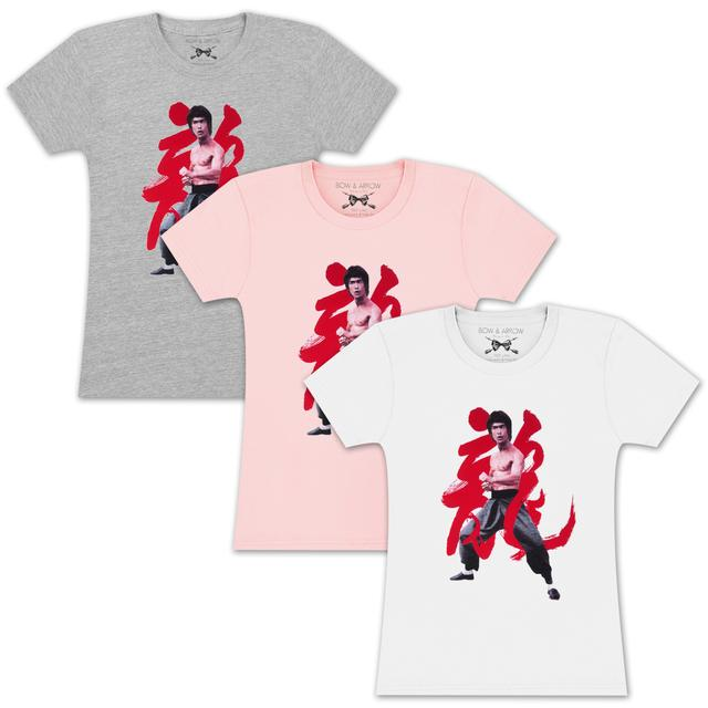 Bruce Lee Ladies Year of the Dragon T-shirt by Bow & Arrow