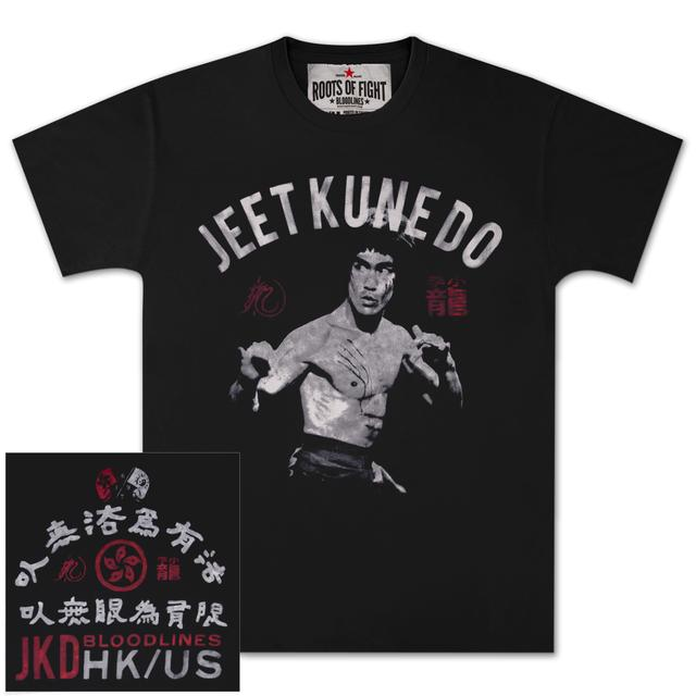 Bruce Lee Jeet Kune Do Stance T-shirt