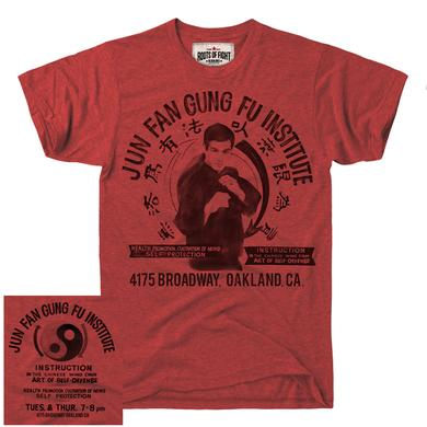 Bruce Lee Jun Fan Gung Fu Institute Tee Red SS/LG